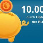 Berufsunfähigkeitsversicherung: 10.000 € im eigenen Vertrag sparen