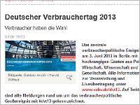 Übrigens haben Sie 2.000 € verloren. Zum Deutschen Verbrauchertag 2013 #dvt13