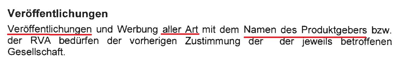 """Punkt 7 der neuen """"Rahmenvereinbarung"""" der Condor Lebensversicherung"""