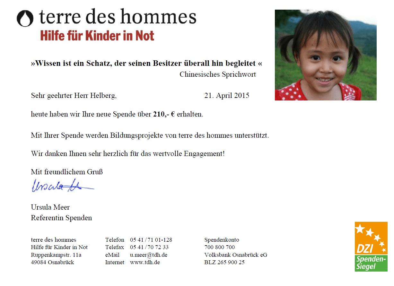 """11.051 Wochen """"Lernen für ein besseres Leben"""" erreicht"""