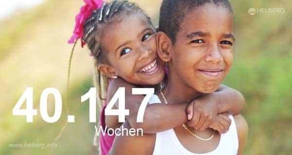 """""""Lernen für ein besseres Leben"""": 40.147 Wochen sind finanziert."""
