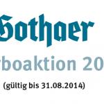 Gothaer Turboaktion 2014: BU mit vereinfachten Gesundheitsfragen