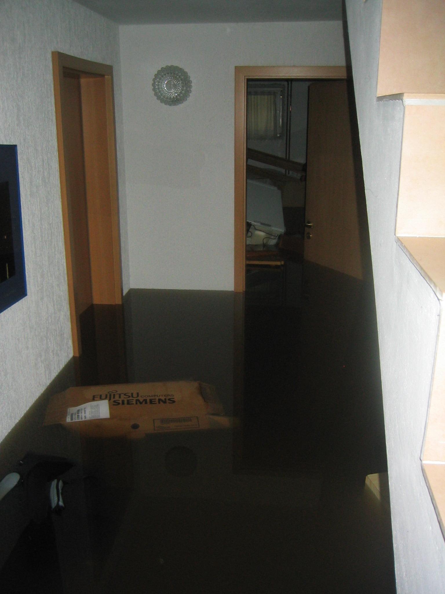 Hochwasser im Keller