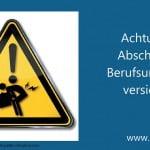 Berufsunfähigkeitsversicherung:<br/>Aufpassen beim Abschluss!