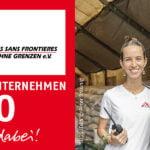 Juchuu – wir sind ÄRZTE OHNE GRENZEN Partner-Unternehmen 2020!