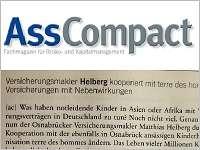AssCompact berichtet über unsere Kooperation mit terre des hommes