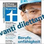 Finanztest Berufsunfähigkeitsversicherung Test 2013: Avanti dilettanti