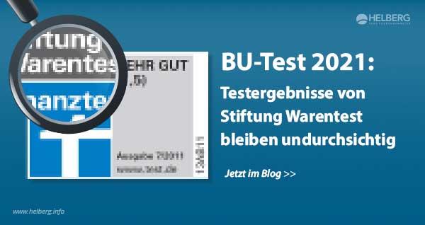 Berufsunfähigkeitsversicherung Test 2021: Testergebnisse von Stiftung Warentest bleiben undurchsichtig
