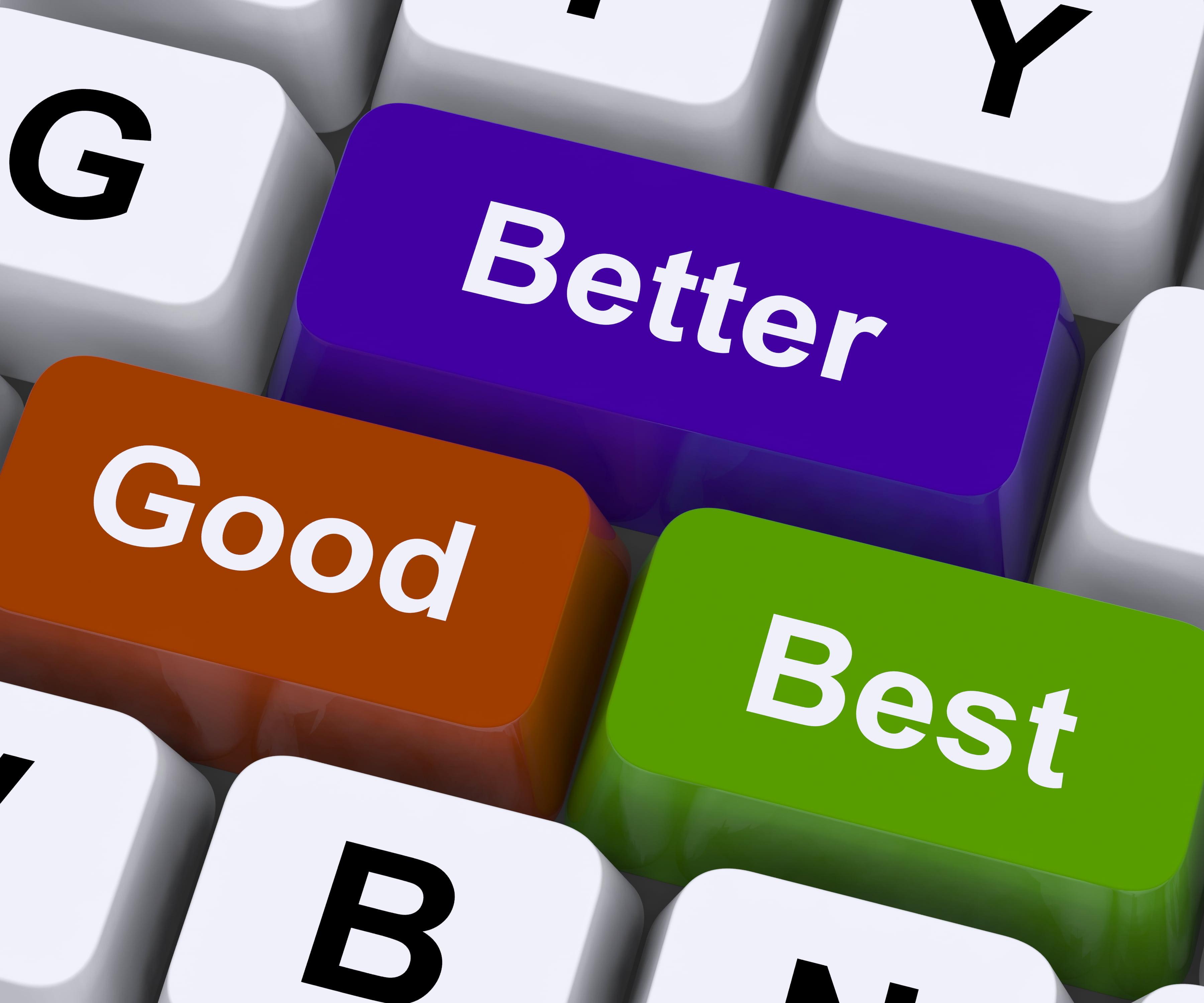 Berufsunfähigkeitsversicherungen Vergleich: Gut, besser, am besten. Grafikquelle colourbox.com