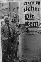 Norbert Blüm plakatiert