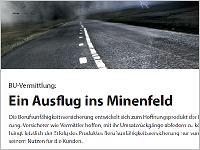 Bu-Vermittlung: Ein Ausflug ins Minenfeld