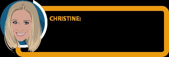 """Christine: """"Mein größtes Vermögen ist meine Arbeitskraft. Denn ohne sie kann ich kein Geld verdienen, kann mir nichts leisten, kann nicht sparen."""""""