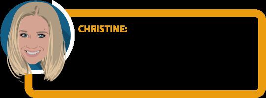 """Christine: """"Abstrakte Verweisung... Konkrete Verweisung... Umorganisationsklausel... Klingt alles echt kompliziert. Muss man """"Versicherungen"""" eigentlich studieren? ;-) """""""