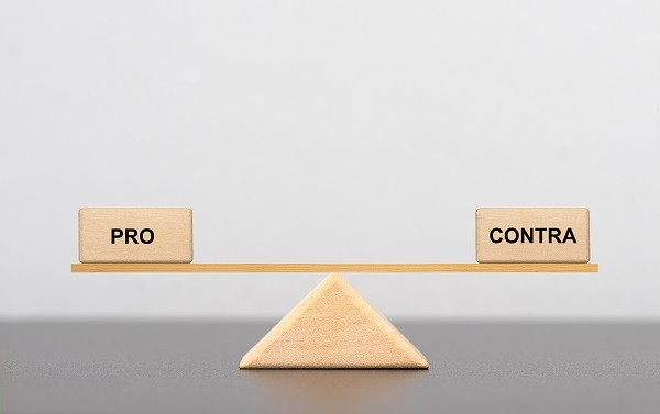 Das Pro und Contrag der Courtage