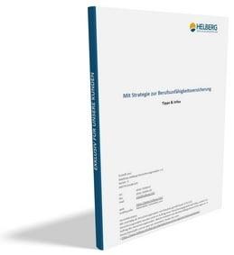 Ratgeber 'Mit Strategie zur Berufsunfähigkeitsversicherung'