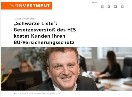 Das Investment: Makler aufgebracht