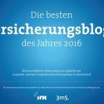 Platz 1: Willkommen auf Deutschlands bestem Versicherungsblog!