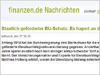 finanzen.de: Interview mit Matthias  Helberg. Grafikquelle: finanzen.de