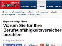 Focus money: Experte schlägt Alarm. Grafikquelle: Focus money online