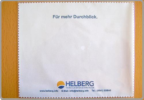 Für mehr Durchblick: Helberg Versicherungsmakler.