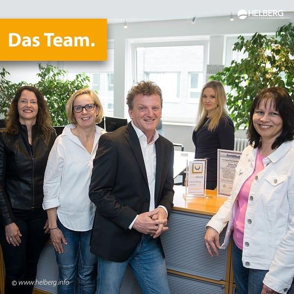Das Team von Matthias Helberg Versicherungsmakler e.K. Foto: Uwe Lewandowski