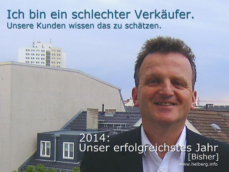 """Matthias Helberg: """"Ich bin ein schlechter Verkäufer."""""""