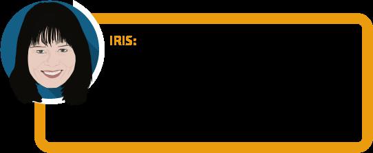 """Iris: """"Als Angestellte bin ich einigermaßen gut abgesichert, solange ich nur vorübergehend ein paar Monate lang krank bin. Wenn das zum Dauerzustand wird, bleibt mir nur ein Bruchteil meines Einkommens."""""""