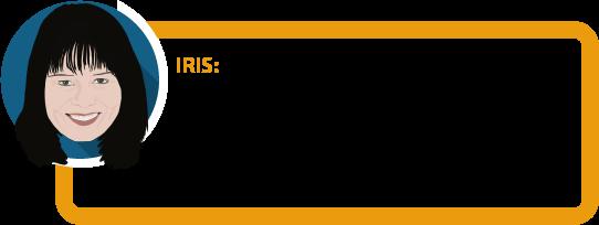 """Iris: """"Eine Unfallversicherung zahlt nur bei bleibenden Schäden nach einem Unfall. 9 von 10 Menschen werden aber nicht wegen eines Unfalls berufsunfähig."""""""