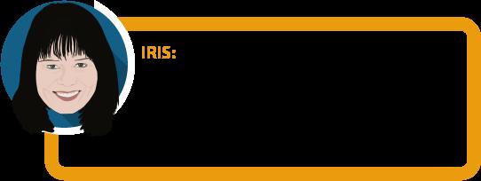 """Iris: """"Nicht nur bei den Gesundheitsfragen schauen die Versicherer genau hin. Auch bei den Angaben zum Beruf und zu Sportarten kann es Überraschungen geben."""""""