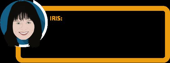 """Iris: """"Im Leistungsfall wird oft nach Aktenlage entschieden. Wissen Sie, welche Diagnosen Ihre Ärzte über Sie gespeichert haben? Finden Sie es heraus, bevor Sie sich versichern."""""""