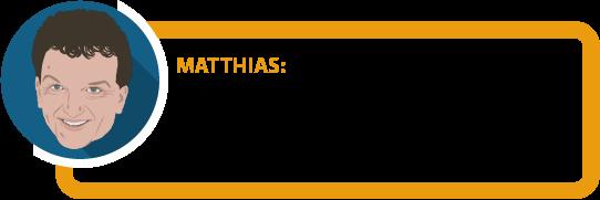 """Matthias: """"Die Frage ist ganz besonders auch für Schüler, Studenten, Azubis und Hausfrauen / Hausmänner wichtig."""""""