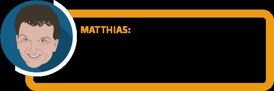 """Matthias: """"Unterschiedliche Regeln können zu unterschiedlichen Ergebnissen führen. Nicht immer liegt das am Versicherer."""""""