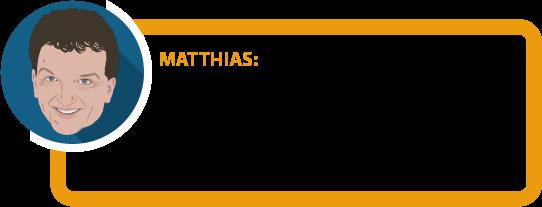 """Matthias: """"Für die meisten Leute ist eine BUV die beste Form der Arbeitskraftabsicherung. Nicht alles, was als Alternative zur BUV angepriesen wird, ist empfehlenswert."""""""