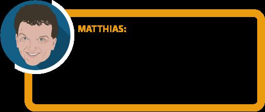 """Matthias: """"Vermeiden Sie Ihren BU-GAU: Korrekte und vollständige Antworten auf die Gesundheitsfragen sind Grundvorausetzung dafür, dass Versicherer im Leistungsfall zahlen. Auch dann, wenn es nur wenig Fragen sind."""