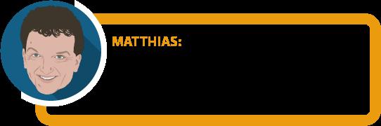 """Matthias: """"Achten Sie unbedingt auf korrekte und vollständige Angaben beim Abschluss. Das ist die """"halbe Miete"""", wenn der Versicherer zahlen soll."""""""