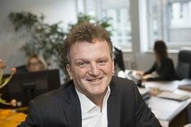 Matthias Helberg Berufsunfähigkeitsversicherung s Experte aus Osnabrück. Foto: Uwe Lewandwoski.