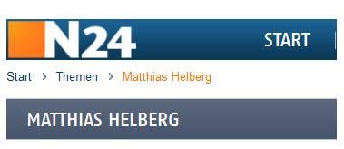 N24 Themen Matthias Helberg