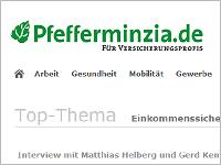 Pfefferminzia Top Thema