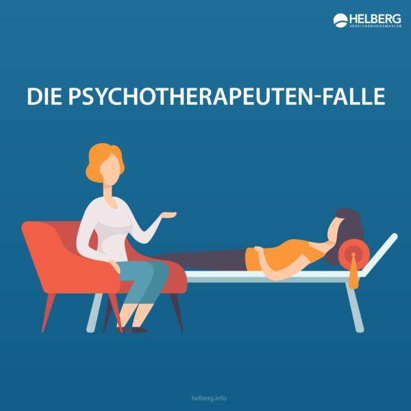 Braucht man eine Psycho-Therapie der Berufsunfähigkeitsversicherung nicht anzugeben, wenn man sie selbst bezahlt hat?