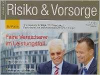 Risiko und Vorsorge - das Magazin für den qualifizierten Versicherungsmakler
