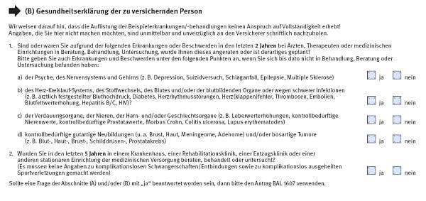 RLV-Aktion Gesundheitsfragen der Basler
