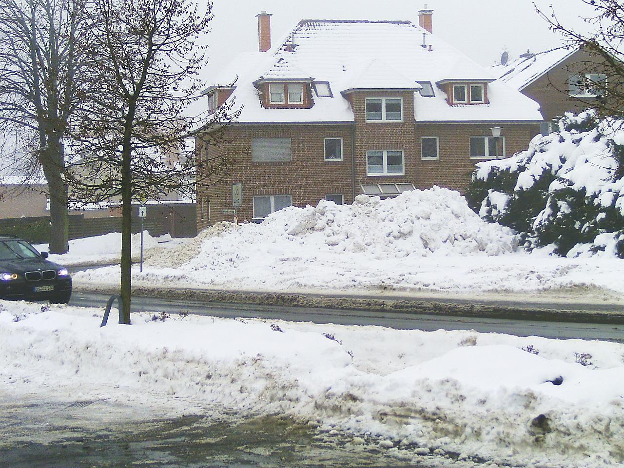Schneedruck-Eisdruck-Elementar-Versicherung