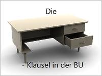 Die Schreibtischklausel in der Berufsunfähigkeitsversicherung Grafikquelle: colourbox.com