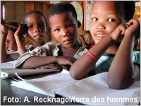 Schule in Namibia, Foto: A. Recknagel/terre des hommes