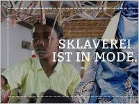 """""""Sklaverei ist in Mode"""" Bildquelle: terre des hommes"""