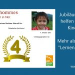 Jubiläum: Seit 4 Jahren helfen unsere Kunden Kindern in Not – automatisch!