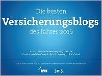 Studie: Die besten Versicherungsblogs des Jahres 2016. Grafikquelle: 3m5 / ifk