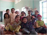 Schulkinder in Vietnam. Foto: tdh