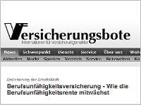 Versicherungsbote: Wie die Berufsunfaehigkeitsrente mitwächst. Grafikquelle: versicherungsbote.de