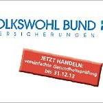 Volkswohl Bund Berufsunfähigkeitsversicherung: Wenig Fragen – am 31.12.2014 abgelaufen